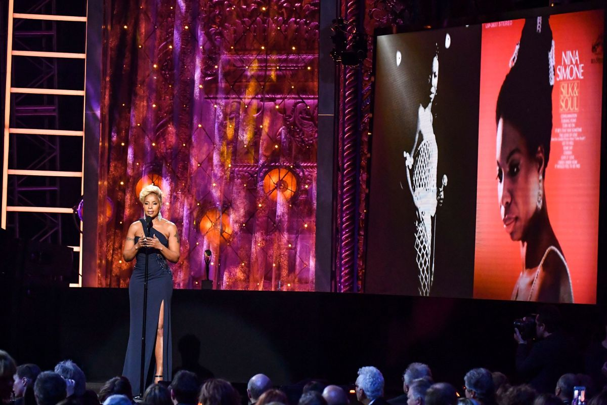 Mary J Blige no Rock & Roll Hall of Fame 2018